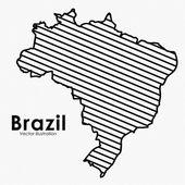 Brazylia — Wektor stockowy
