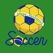 Futebol brasileiro — Vetorial Stock