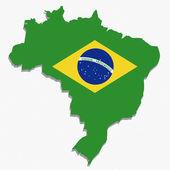 бразилия — Cтоковый вектор