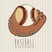野球 — ストックベクタ