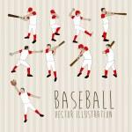 Постер, плакат: Baseball players