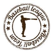 Baseball league — Stock Vector
