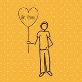 Amoureux — Vecteur