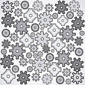 Gears design — Stock Vector