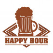 Happy hour — Stock Vector #28545291
