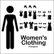 Stock Vector: Womens clothing