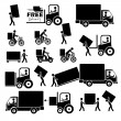 Delivery icons — Stock Vector #29526791