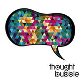 Thought bubble — Stock Vector