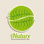 Doğa tasarımı — Stok Vektör