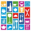 Restaurant icons — Stock Vector #29951935