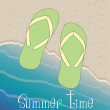 Summer time — Vector de stock #30278135