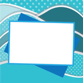 Frame picture — Stock Vector