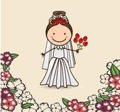 Düğün tasarım — Stok Vektör