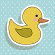 Duckling — Stock Vector