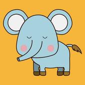 Elephant design — Stock Vector