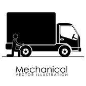 Icône mécanique — Vecteur