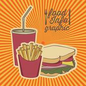Fast food — Vecteur