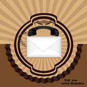 Posta simgesini — Stok Vektör