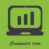 Bilgisayar — Stok Vektör