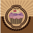 Cup cake — Stock Vector #30904453