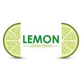Lemon design — Stock vektor