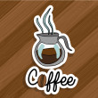 Stock Vector: Coffee icon