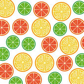 Citrus fruit — Stock Vector