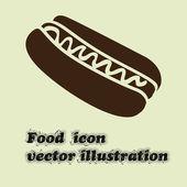 ホットドッグ — Stock vektor