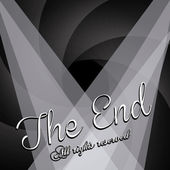 The end label — Stock Vector