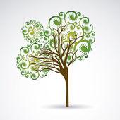Beauty tree — Stock Vector