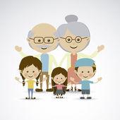 Avós — Vetor de Stock