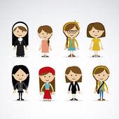 Women design — Stock Vector