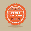 Special discount — Stock Vector