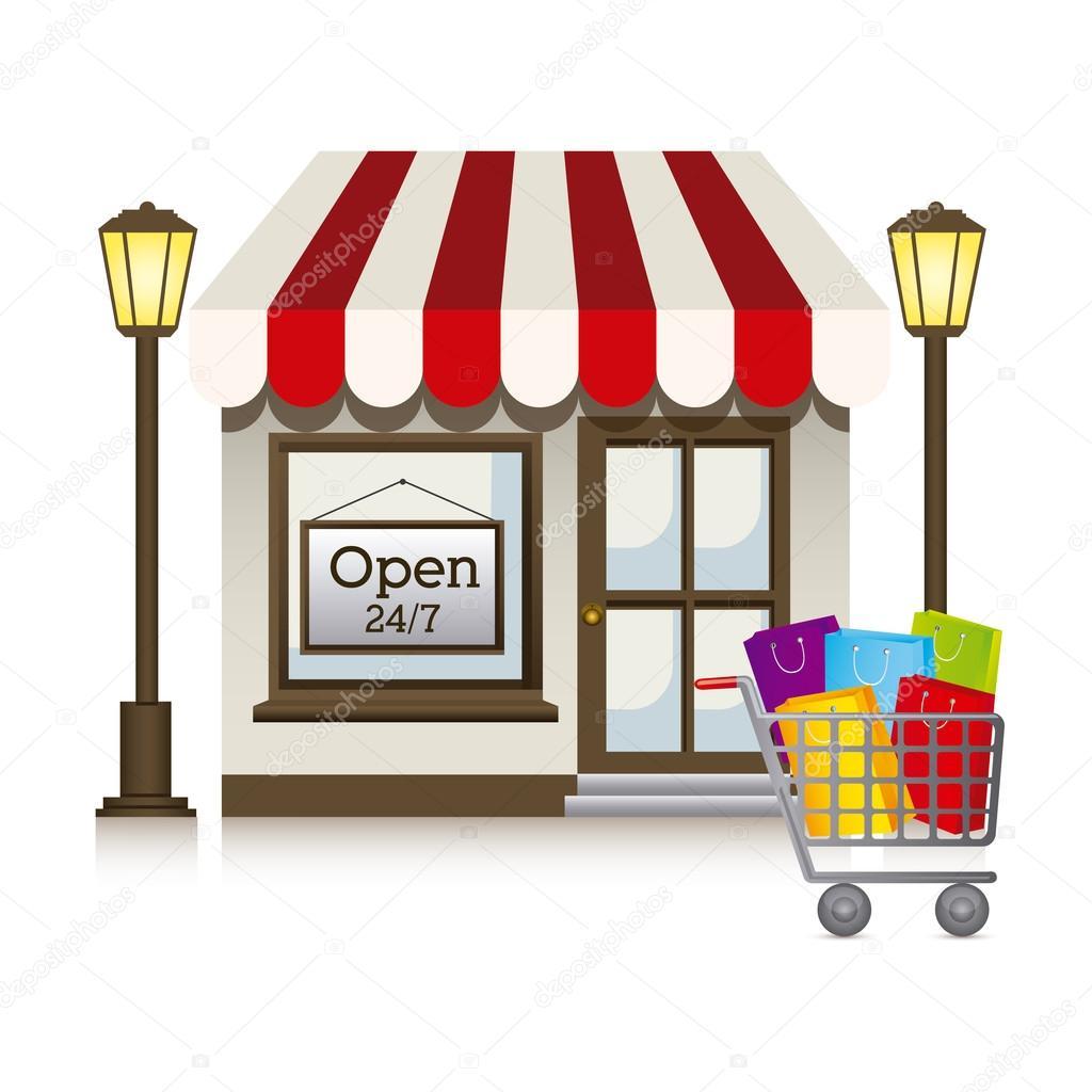 Store — Stock Vector © grgroupstock #32860459