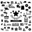 Shopping icons  — Grafika wektorowa