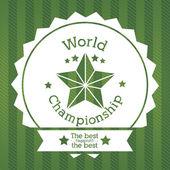 Mistrzostwa świata — Wektor stockowy