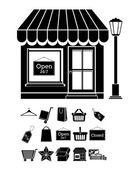 Shopping desig — Stock Vector
