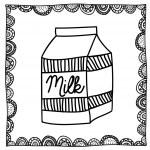 Milk drawing — Stock Vector #33186807