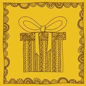 Gift design — Stock Vector