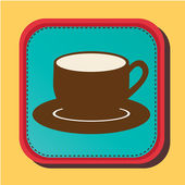 Coffee design — Vector de stock
