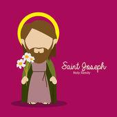 Saint joseph — Stockvektor