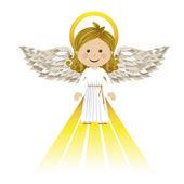 Sagrado anjo guardião — Vetorial Stock