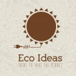 Stock Vector: Eco ideas