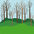 Stock Vector: Trees
