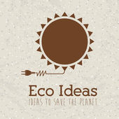 Eco ideas — Stock Vector