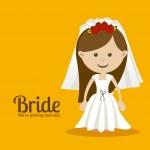 Bride design — Stock Vector #35025795