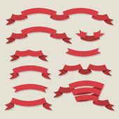 Riboons design — Stock Vector