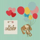 Baby arrival — Stock Vector