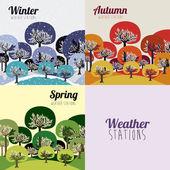 Weather design — Stock Vector