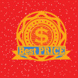 Best price seal  — Stock Vector